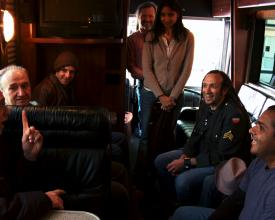 Krishna Das on the Samsara by Bus Tour, 2010
